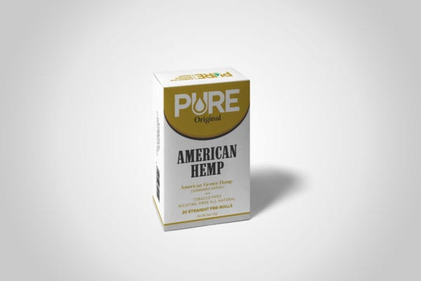 Pure American Hemp Cigarette